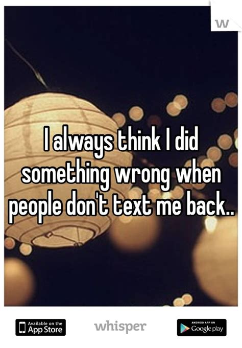 people dont text back quotes