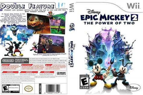 Disney Epic Mickey 2 The Power Of Two Wii Gamesplus