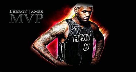 lebron james miami heat wallpaper  wallpapersafari