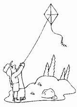 Kite Coloring Kites Flying Printable Drawing Sheets Children Getdrawings Yahoo Results Worksheets Popular sketch template