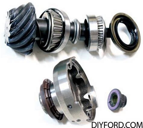 ford   axle assembly ring  pinion gear set