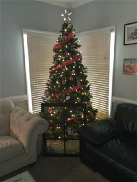 christmas tree fence for dogs fence trees and lights on