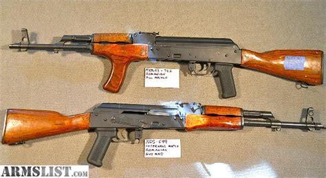 4 Romanian Akm Rifles In 7.62 X 39
