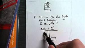 Prozentsatz Berechnen Dreisatz : berechnung prozentsatz dreisatz youtube ~ Themetempest.com Abrechnung