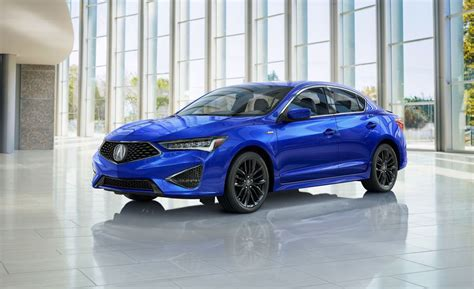 2019 Acura Ilx Refreshed  Updated Compact Sedan With Aspec