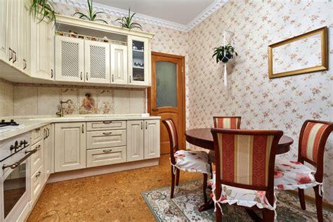 mempercantik dapur  wallpaper dinding