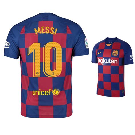 Nike Youth Barcelona Lionel Messi 10 Jersey Home 1920