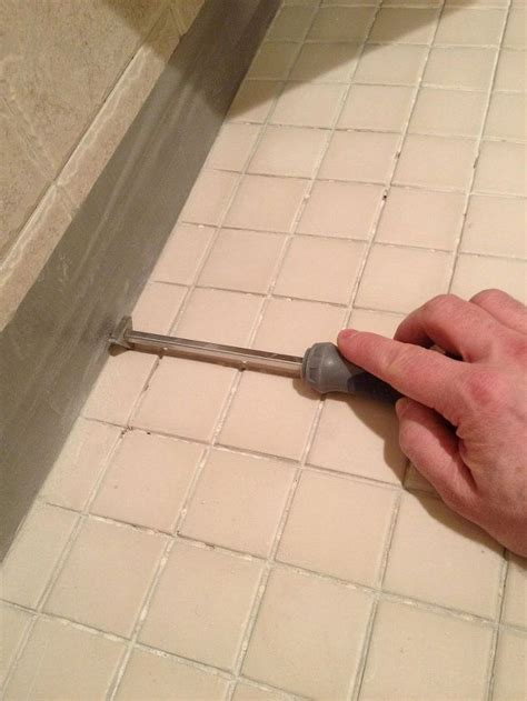 Removing Grout From Porcelain Tile by The Best Grout Removal Tools For Shower Tile Floors Hometalk