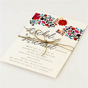 Colorful Wedding Invitation – Wedding Invitation Ideas