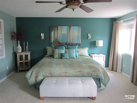 choosing  bedroom paint color sherwin williams pure white setting
