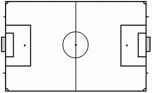 blank soccer field clipart best With blank football field template