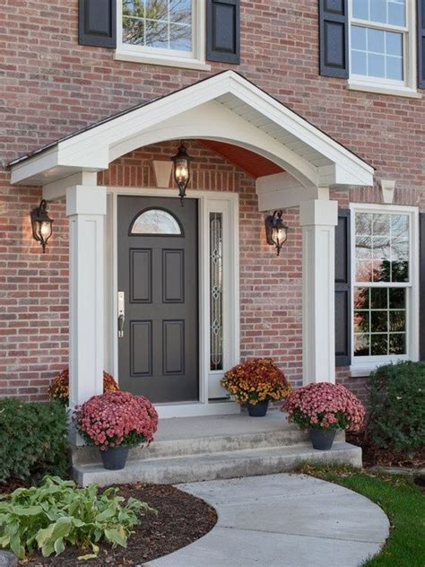 images  portico designs  pinterest porch roof cool houses  porticos