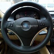 BMW Leather Steering Wheel Cover