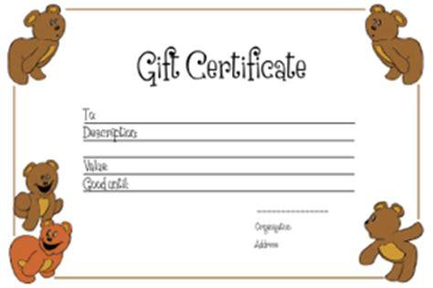 gift voucher templates  printable gift vouchers