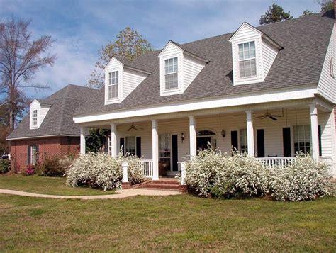 cape  colonial farmhouse southern house plan