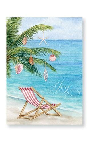 tropical christmas card images pinterest