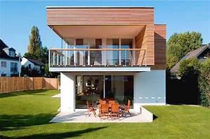 Balkon Gestalten Ideen : haus bauen kleine einfamilienh user neubau aussen ~ Lizthompson.info Haus und Dekorationen