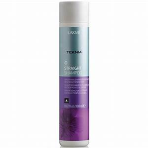 Lakme Teknia Straight Shampoo 102 Oz For Frizzy Or