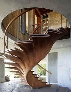Escalier Moderne Pas Cher : 43 photospour fabriquer un escalier en bois sans efforts ~ Premium-room.com Idées de Décoration