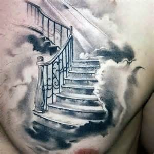 Staircase To Heaven Tattoo by 25 Best Ideas About Heaven Tattoos On Pinterest