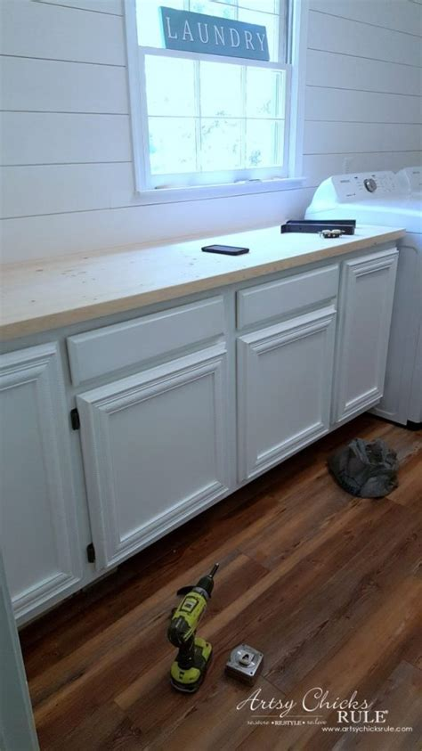 Easy Diy Countertops - how to make a diy wood countertop artsy rule 174