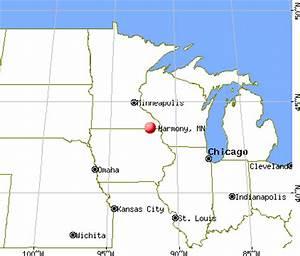 Harmony Minnesota MN 55939 Profile Population Maps