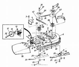 Mtd 1362694g401  1996  Parts Diagram For Deck Assembly G