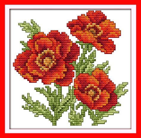printable cross stitch patterns flowers printable  degree