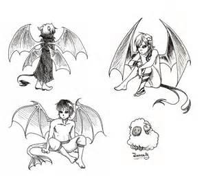 Demon Drawings Sketches