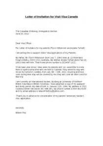Canadian Working Visa Resume Template by Sle Letter For Visitor Visa The Best Letter Sle