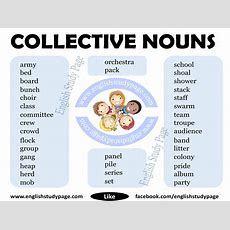 Collective Nouns In English  English Study Page
