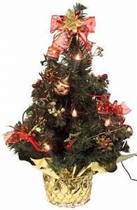 Künstlicher Weihnachtsbaum Fertig Dekoriert : k nstlicher mini weihnachtsbaum geschm ckt und beleuchtet ~ Sanjose-hotels-ca.com Haus und Dekorationen