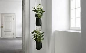 Pot A Accrocher : cache pot suspendus pot de fleurs suspendu et jardini re suspendue marie claire ~ Teatrodelosmanantiales.com Idées de Décoration