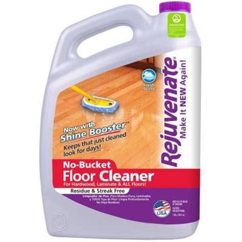 Rejuvenate Floor Cleaner Home Depot by Rejuvenate 128 Oz Floor Cleaner Rj128fc The Home Depot