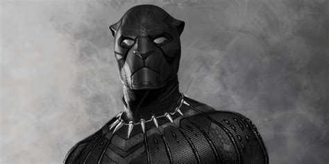 Black panther is the 2018 feature film adaptation of the marvel comics superhero as portrayed by chadwick boseman , who was previously introduced in 2016's captain america: Black Panther: Unused Killmonger Costume Design Revealed