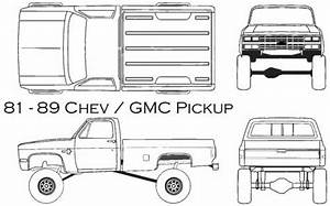 blueprints gt cars gt chevrolet gt chevrolet gmc pickup 1985 With 1949 chevy step van