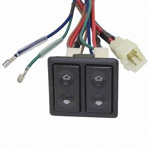Brock Supply - Universal Power Window Switch Kit