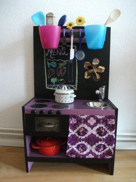 ideas recycling furniture  diy kids play kitchen designs