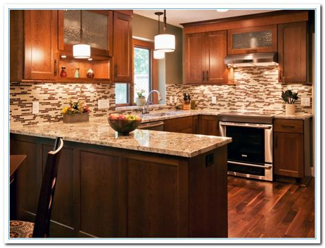 kitchen with backsplash idea tile backsplash designs home and cabinet reviews 6490