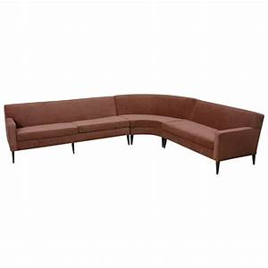 xjpg With 3 piece curved sectional sofa