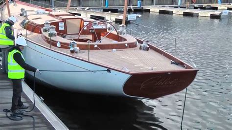 Show Sailing Yacht by 65 Classic Sailing Yacht Launch 2015