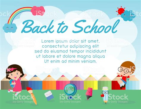 What Is Your Educational Background by Education Object On Back To School Background Back To