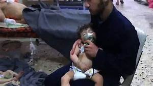 Victims of an Alleged Chemical Weapons Attack in Syria