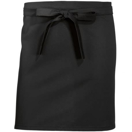 tablier de cuisine noir tablier de cuisine court noir de chez bp