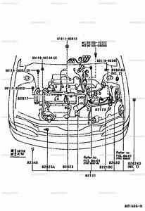Wiring Harnes Toyotum Levin Ae111