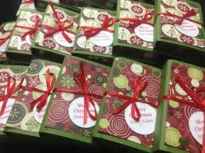 meashie christmas party favors