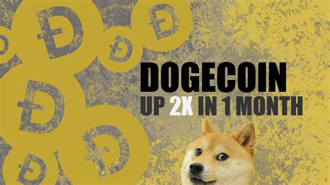 Dogecoin Value Up 2x in 1 Month - HedgeTrade Blog