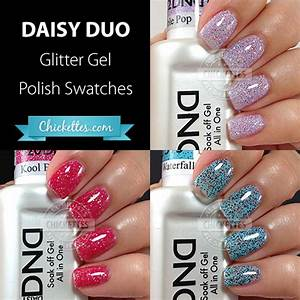 Cnd Vinylux Color Chart 2015 Daisy Duo Glitter Gel Polishes
