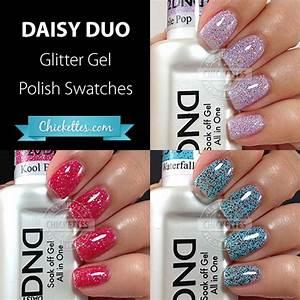 Daisy Duo Glitter Gel Polishes