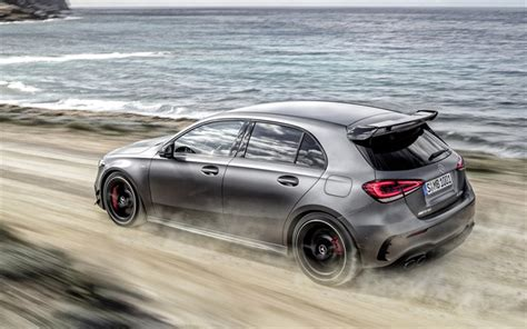 Showing 1 to 10 wallpapers out of a total of 57 for search 'amg'. Download imagens 2020, A Mercedes-AMG A45, 4MATIC, w177, exterior, vista lateral, cinza ...